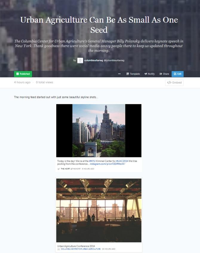 storify screen capture