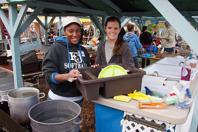 Volunteers serve as the backbone of the Hoot.